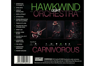 Hawkwind Light Orchestra - CARNIVOROUS  - (CD)