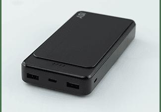ISY Powerbank 20000mAh, schwarz (IPP-20000-C-BK)