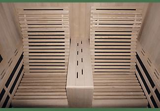 SANOTECHNIK CARBON 2 Infrarotkabine für 2 Personen, 3100 Watt (F10180)
