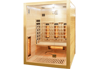 SANOTECHNIK OPEN Infrarotkabine für 2 Personen, 1860 Watt (J20150)