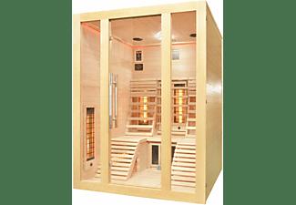 SANOTECHNIK OSLO Infrarotkabine für 2 Personen, 2625 Watt (J40150)