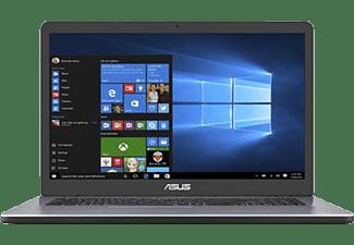 ASUS VivoBook 17 F705, Notebook mit 17,3 Zoll Display, Pentium® Prozessor, 8 GB RAM, 512 GB SSD, Intel® HD Grafik 510, Star Grey