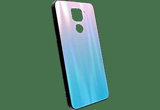 AGM 30667, Backcover, Xiaomi, Redmi Note 9, Blau/Pink