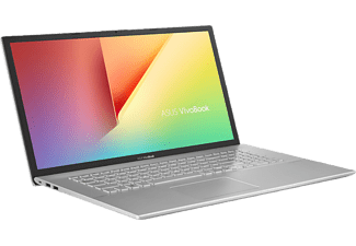 ASUS Notebook VivoBook S17 S732JA-BX208T, i3-1005G1, 8GB RAM, 512GB SSD, 17.3 Zoll HD+, Silber (90NB0SZ3-M02540)