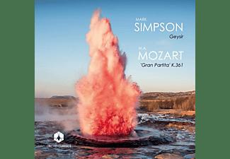 Simpson,Mark/Langton,Fraser/Daniel,Nicholas/+ - MARK SIMPSON: GEYSIR - MOZART: 'GRAN PARTITA' K.36  - (CD)