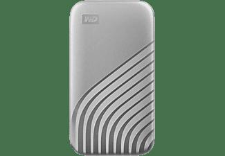 WD My Passport™, 1 TB SSD, 2,5 Zoll, extern, Silber