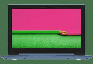 LENOVO Notebook IdeaPad 1 11ADA05, Athlon Silver 3050e, 4GB RAM, 64GB eMMC, 11.6 Zoll HD, Ice Blue (82GV001HGE)