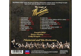 Joseph Calleja - The Magic of Mantovani  - (CD)