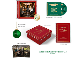Angelo & Family Kelly - Coming Home For Christmas (Limitierte Fanbox)  - (CD)