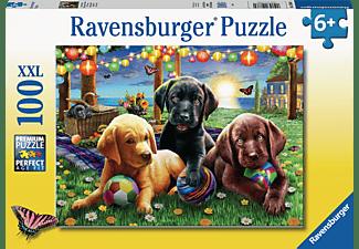 RAVENSBURGER Hunde Picknick Puzzle Mehrfarbig