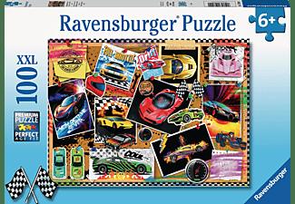 RAVENSBURGER Rennwagen Pinnwand Puzzle Mehrfarbig