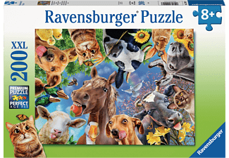 RAVENSBURGER Lustige Bauernhoftiere Puzzle Mehrfarbig