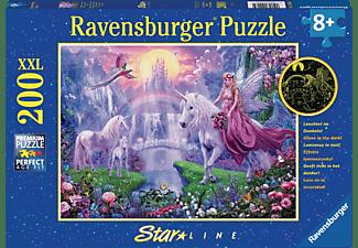 RAVENSBURGER Magische Einhornnacht Puzzle Mehrfarbig