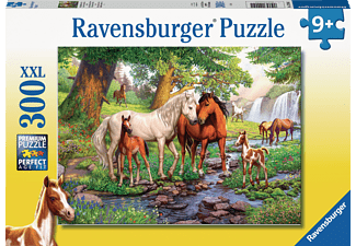 RAVENSBURGER Wildpferde am Fluss Puzzle Mehrfarbig