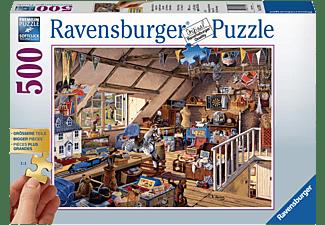 RAVENSBURGER Großmutters Dachboden Puzzle Mehrfarbig