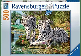 RAVENSBURGER Weiße Raubkatze Puzzle Mehrfarbig