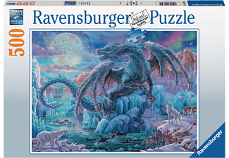 RAVENSBURGER Eisdrache Puzzle Mehrfarbig
