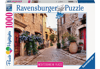 RAVENSBURGER Mediterranean France Puzzle Mehrfarbig