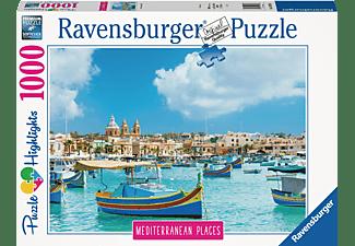 RAVENSBURGER Mediterranean Malta Puzzle Mehrfarbig