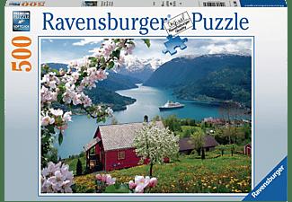 RAVENSBURGER Skandinavische Idylle Puzzle Mehrfarbig