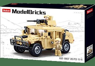 SLUBAN Gepanzertes Fahrzeug (265 Teile) Bausatz, Mehrfarbig