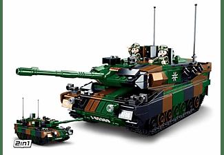 "SLUBAN Kampfpanzer ""Leopold"" (766 Teile) Klemmbausteine, Mehrfarbig"