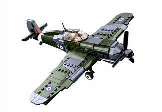 SLUBAN WWII - Brit. Jagdflugzeug (297 Teile) Klemmbausteine, Mehrfarbig