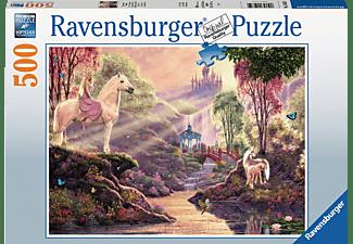 RAVENSBURGER Märchenhafte Flussidylle Puzzle Mehrfarbig