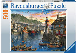 RAVENSBURGER Morgens am Hafen Puzzle Mehrfarbig