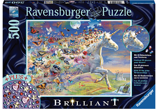RAVENSBURGER Schmetterlingseinhorn Puzzle Mehrfarbig