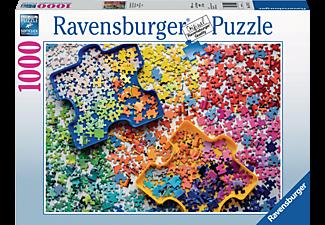 RAVENSBURGER Viele bunte Puzzleteile Puzzle Mehrfarbig