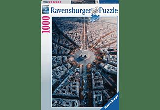 RAVENSBURGER Paris von Oben Puzzle Mehrfarbig