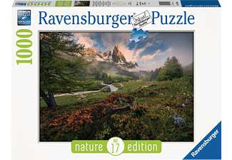 RAVENSBURGER Malerische Stimmung im Vallée de la Clarée, Französischen Alpen Puzzle Mehrfarbig
