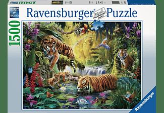 RAVENSBURGER Idylle am Wasserloch Puzzle Mehrfarbig