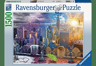 RAVENSBURGER New York im Winter und Sommer Puzzle Mehrfarbig