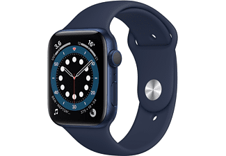 APPLE Watch Series 6 GPS, 44mm Aluminium Case Sport Band...