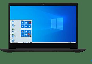LENOVO IdeaPad 3, Notebook mit 15,6 Zoll Display, Ryzen 5 Prozessor, 8 GB RAM, 512 GB SSD, Radeon Vega 8 Grafik, Schwarz
