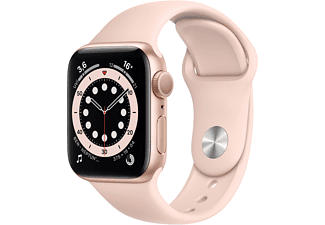 APPLE Watch Series 6 GPS, 40mm Aluminium Case Pembe Sport...