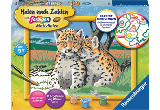 RAVENSBURGER Kleine Leoparden Malset Mehrfarbig