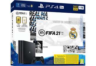 Consola - PS4 Pro 1 TB + FIFA 21