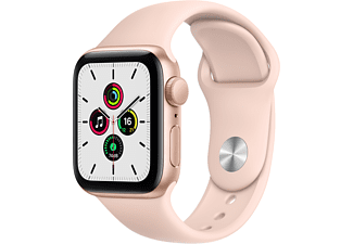 APPLE Watch SE GPS 40mm Aluminium Case Pembe Spor Kordon Akıllı Saat Gold
