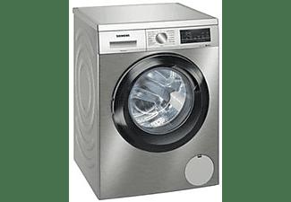 Lavadora carga frontal - Siemens WU12UT7XES, 9 kg, 1200 rpm, 13 programas, Inox