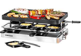 ROMMELSBACHER RC 1400 - Raclette (Acciaio inossidabile)
