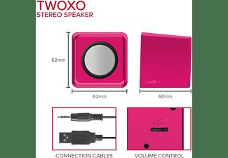 SPEEDLINK TWOXO Stereo Speakers, pink Stereo-Lautsprecher