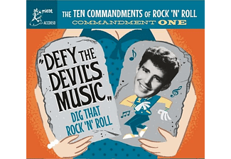 VARIOUS - TEN COMMANDMENTS OF ROCK'N'ROLL VOL.1  - (CD)