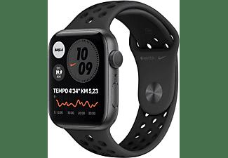 APPLE Watch Nike Series 6 GPS 44mm Aluminium Case Antrasit/Siyah...