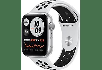 APPLE Watch Nike Series 6 GPS 44mm Aluminium Case Platin/Siyah...