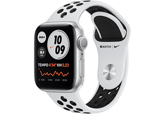 APPLE Watch Nike Series 6 GPS 40mm Aluminium Case Platin/Siyah...