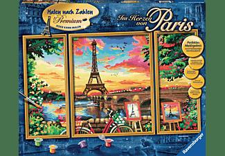 RAVENSBURGER Im Herzen von Paris Malset Mehrfarbig