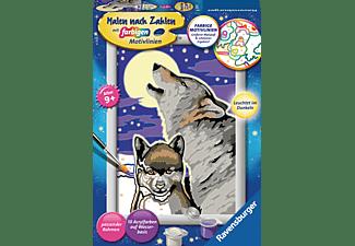 RAVENSBURGER Mystische Wölfe Malset Mehrfarbig